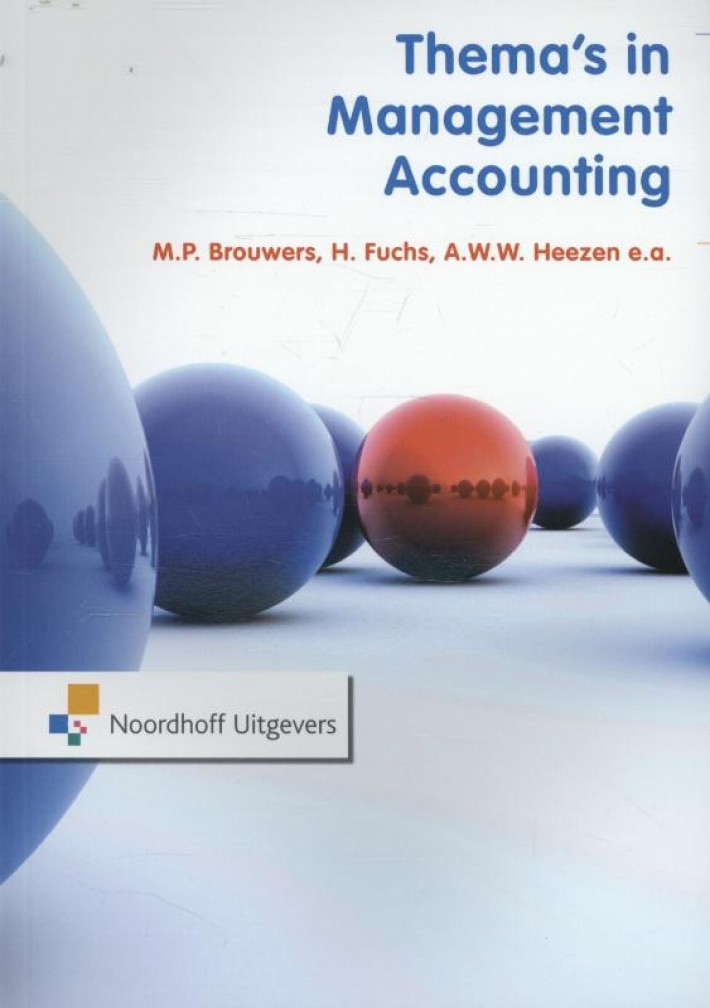 Thema's in management accounting RUG