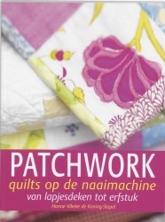 Patchwork quilts op de naaimachine