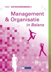 Management en organisatie in balans