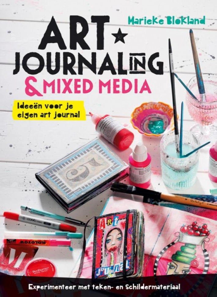 Art journaling en mixed media