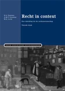 Recht in context • Recht in context