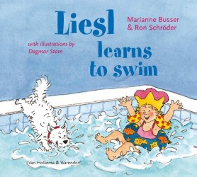 Liesl learns to swim