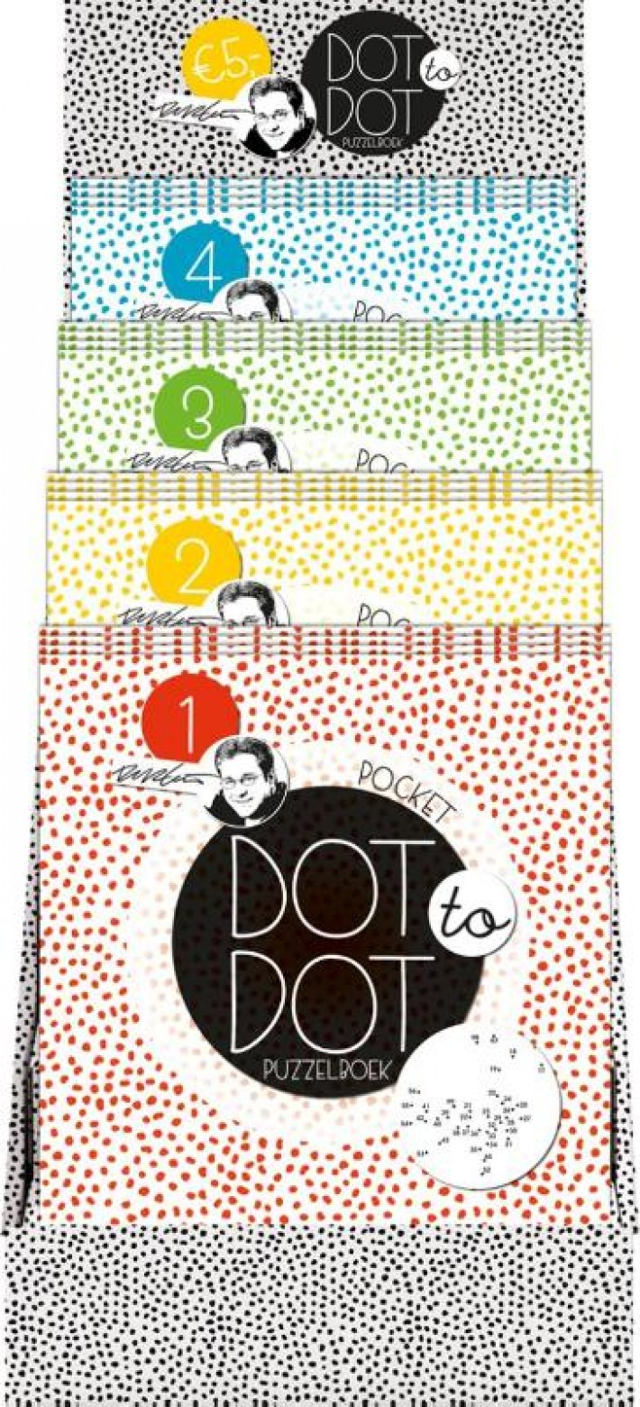 Dot to dot puzzelboek pocket (Display 4 x 4 ex.)
