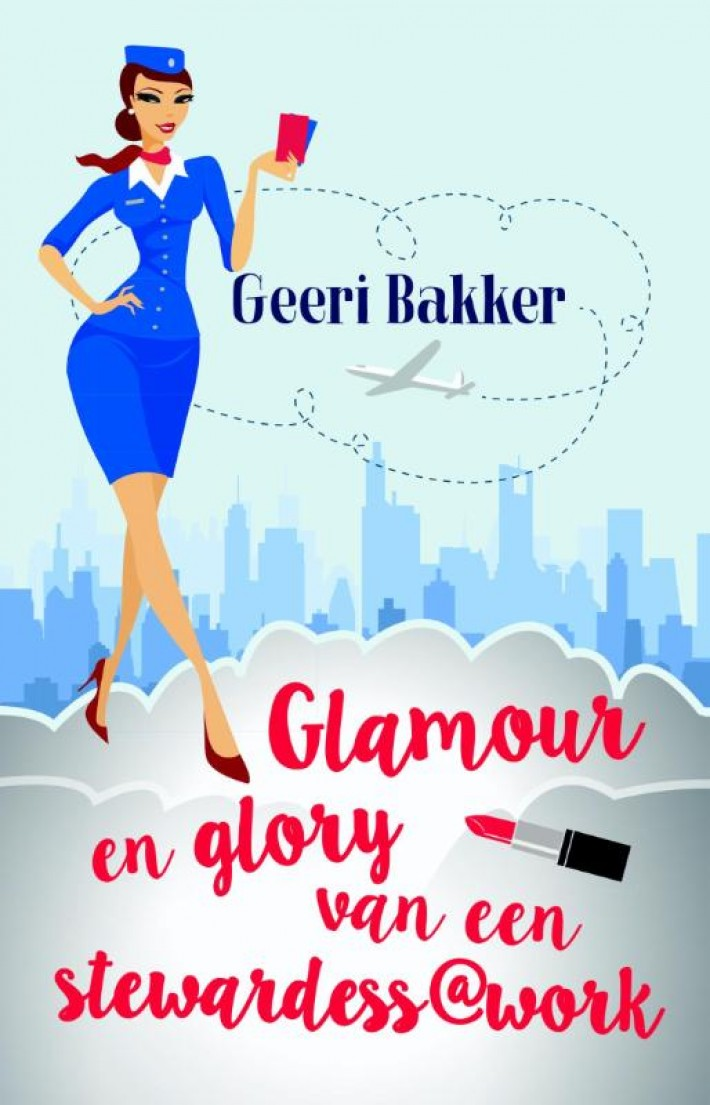 Glamour en glory van een stewardess@work