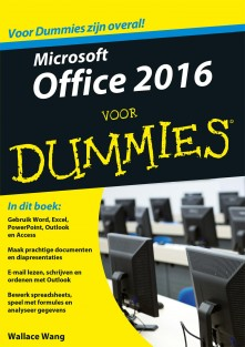 Microsoft Office 2016 voor Dummies