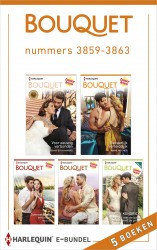 Bouquet e-bundel nummers 3859 - 3863 (5-in-1)
