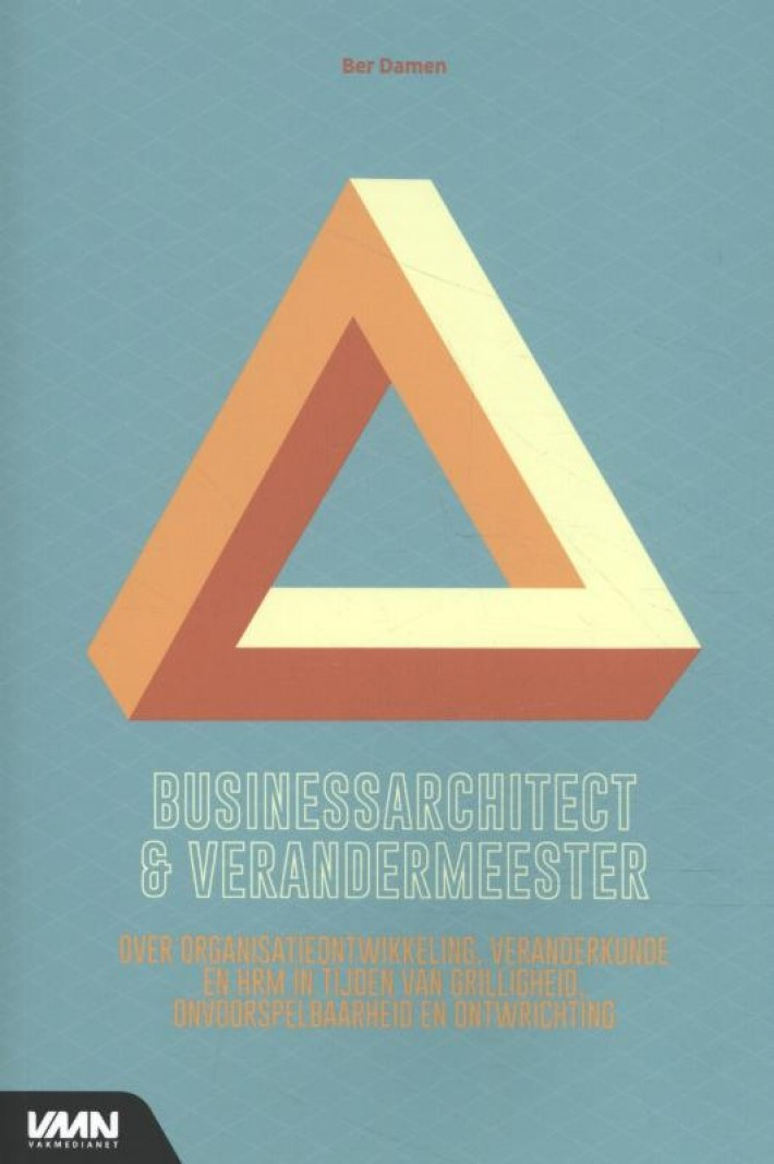 Businessarchitect en verandermeester