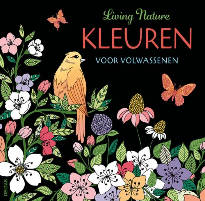 Bureau Isbn Living Nature Kleuren Voor Volwassenen