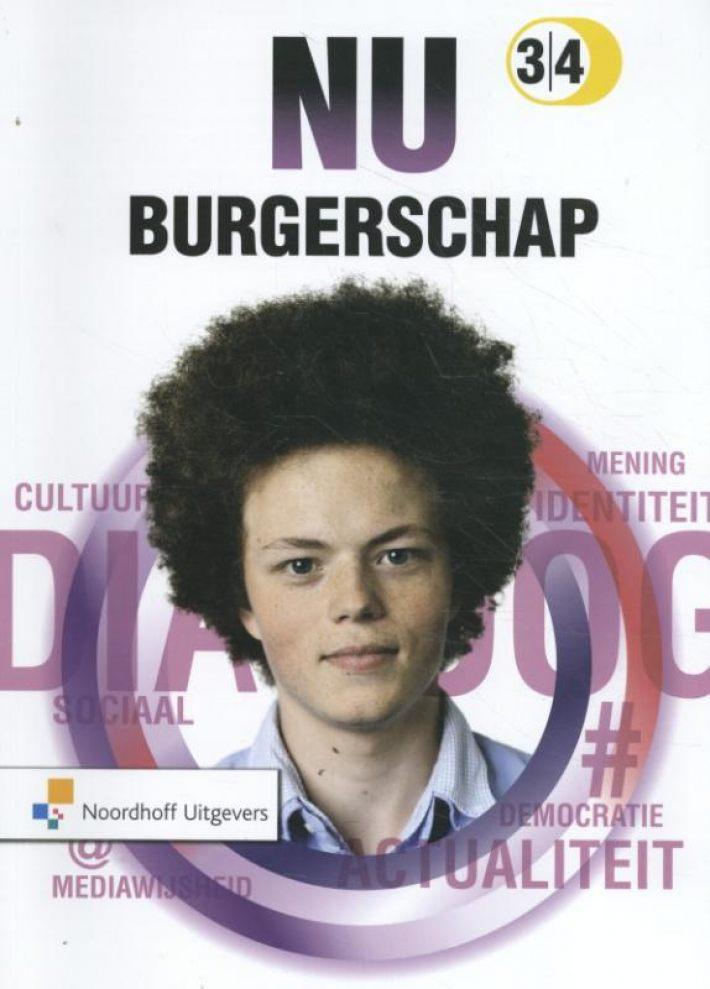 Onwijs Bureau ISBN - NU Burgerschap | 3/4 | leerwerkboek RX-18